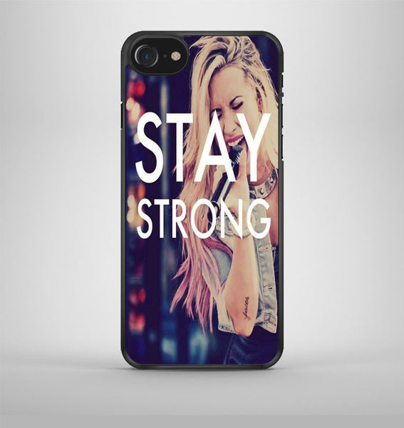 Stay Strong Demi Lovato iPhone 7 Case Avallen