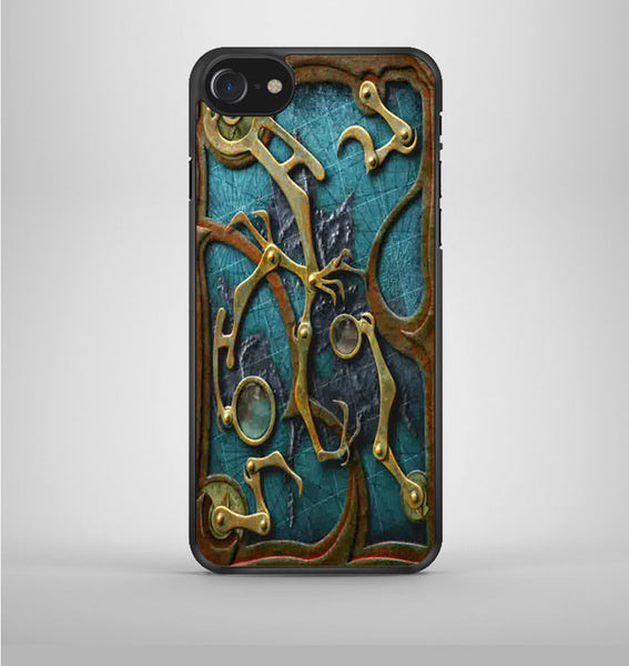 Steampunk Book Cover iPhone 7 Case Avallen