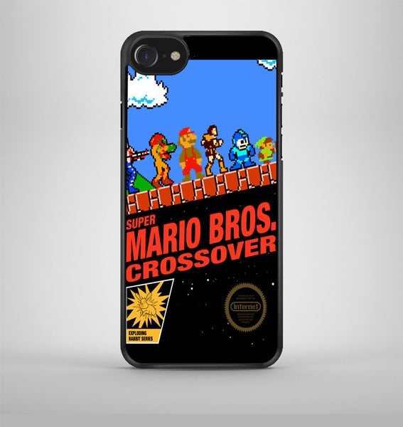 Super Mario Bros Crossover iPhone 7 Case Avallen
