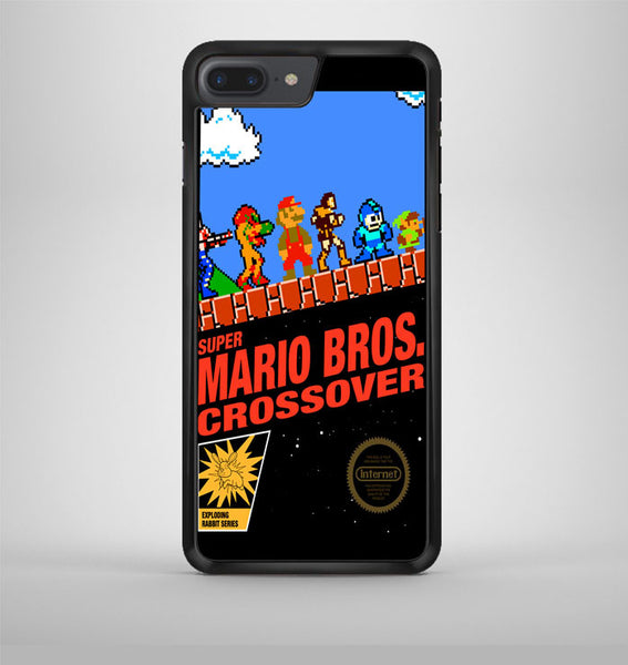 Super Mario Bros Crossover iPhone 7 Plus Case Avallen