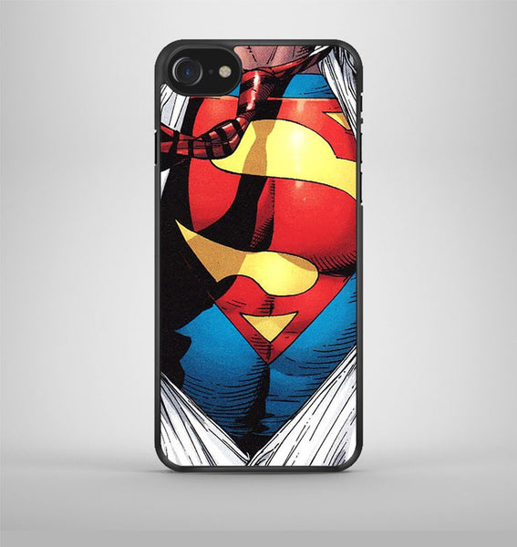 Superman Clark Kent Pop Art iPhone 7 Case Avallen