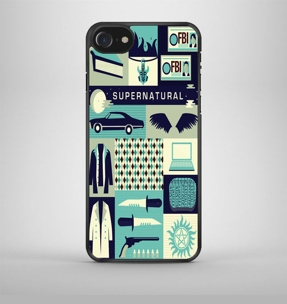 Supernatural Collage Art iPhone 7 Case Avallen