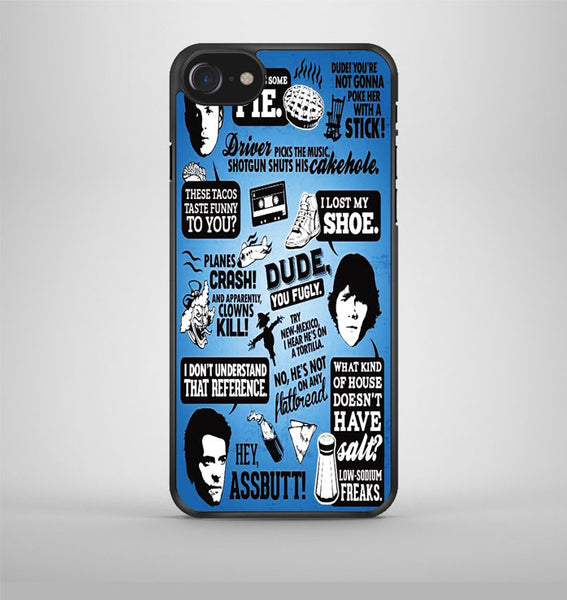 Supernatural Quote Collage iPhone 7 Case Avallen