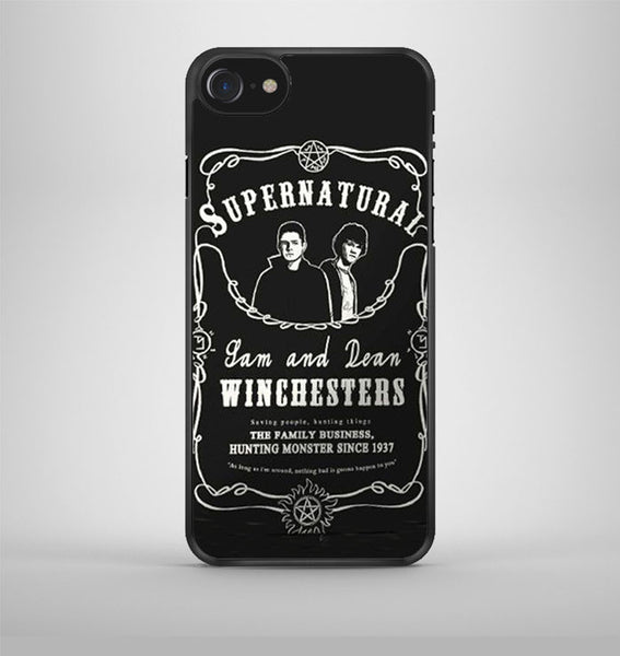 Supernatural Sam Dean iPhone 7 Case Avallen