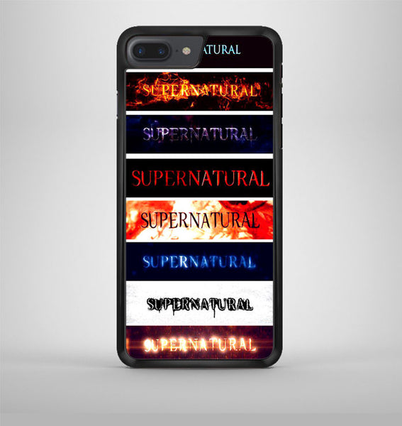 Supernatural Tumblr iPhone 7 Plus Case Avallen