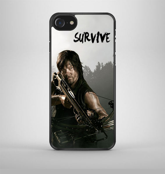 The Walking Dead Daryl Dixon Survive iPhone 7 Case Avallen