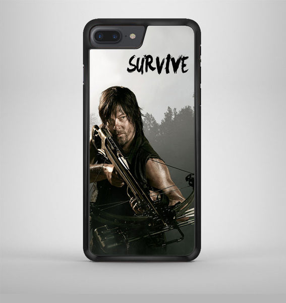 The Walking Dead Daryl Dixon Survive iPhone 7 Plus Case Avallen
