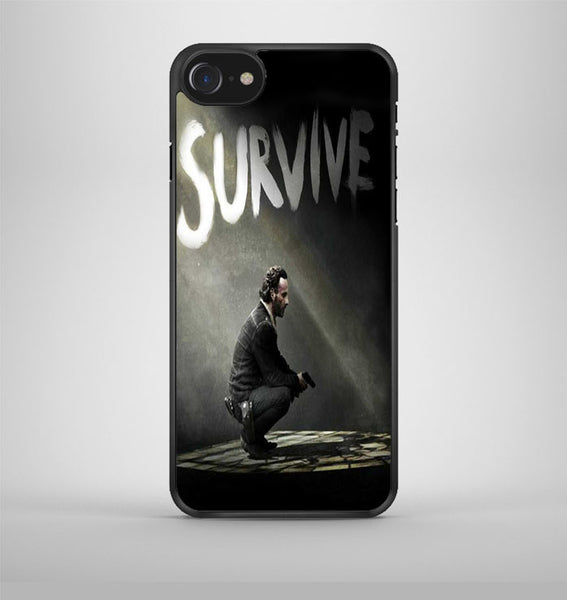 The Walking Dead Rick Survive iPhone 7 Case Avallen