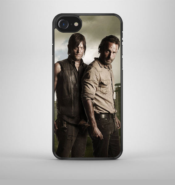 The Walking Dead Rick And Daryl iPhone 7 Case Avallen