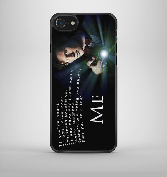 Tardis Doctor Who in The Rain iPhone 7 Case Avallen