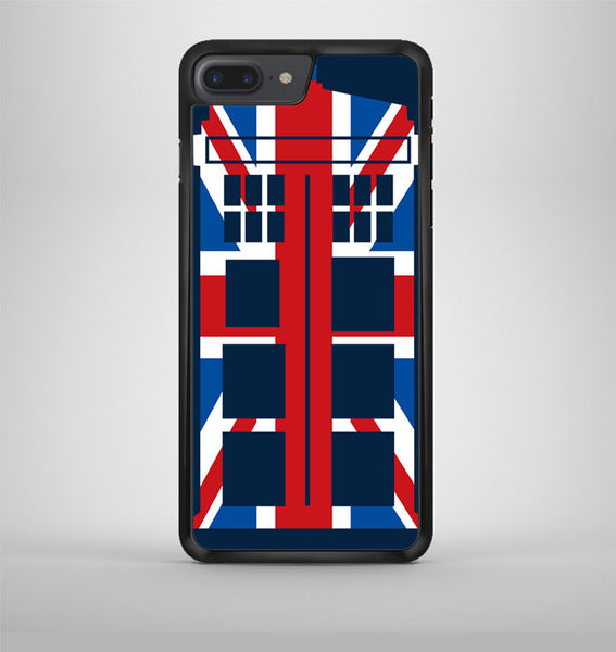 Tardis Doctor Who And Union Jack Cover iPhone 7 Plus Case Avallen