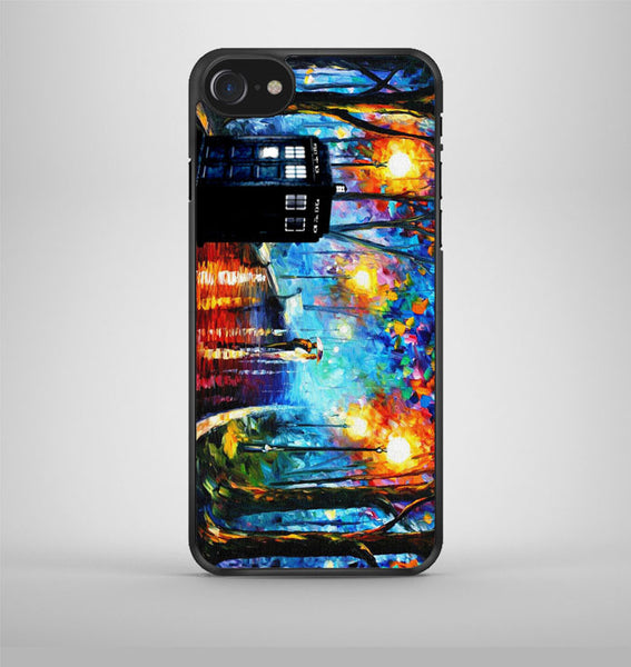 Tardis Doctor Who Smoke Quotes iPhone 7 Case Avallen