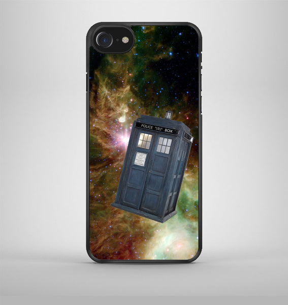 Tardis Dr Who In Galaxy Space iPhone 7 Case Avallen