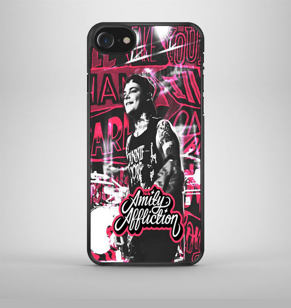 The Amity Affliction Pink iPhone 7 Case Avallen