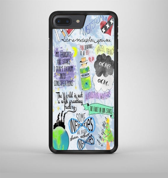 The Fault In Our Stars Collage iPhone 7 Plus Case Avallen
