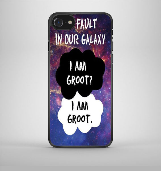 The Fault In Our Galaxy I Am Groot iPhone 7 Case Avallen
