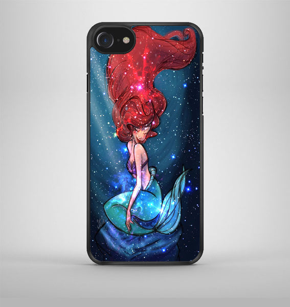 The Little Princess Ariel Mermaid Nebula Galaxy iPhone 7 Case Avallen