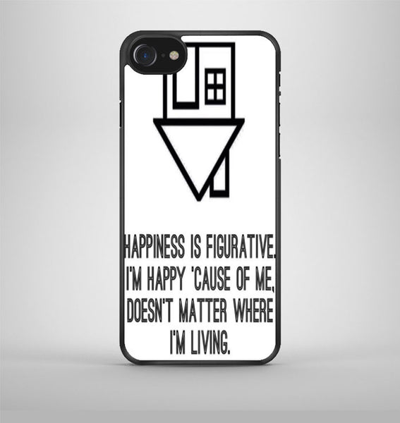 The Neighbourhood Quotes Band iPhone 7 Case Avallen