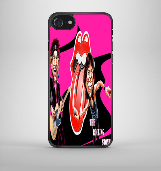 The Rolling Stones Photos Concer Band iPhone 7 Case Avallen