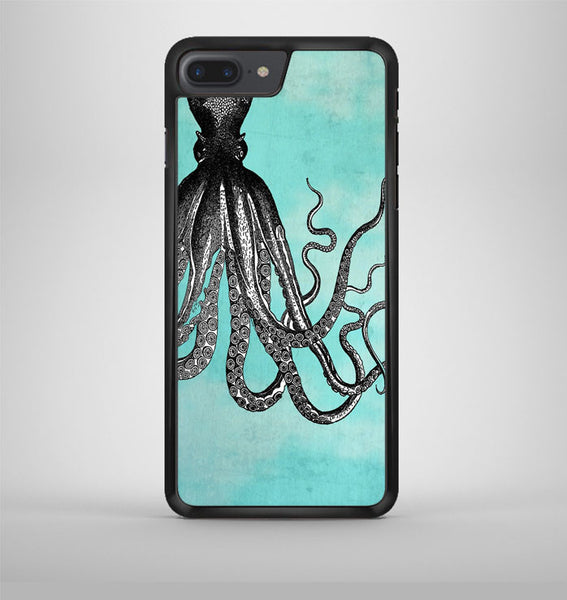 The Telepathic Octopus Black iPhone 7 Plus Case Avallen