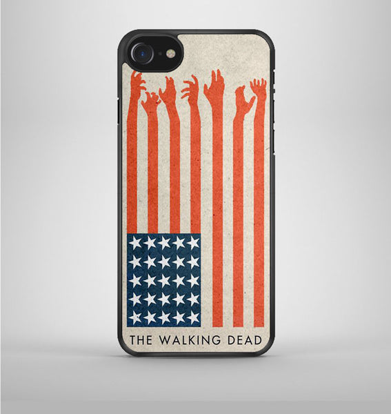 The Walking Dead Usa Flag iPhone 7 Case Avallen