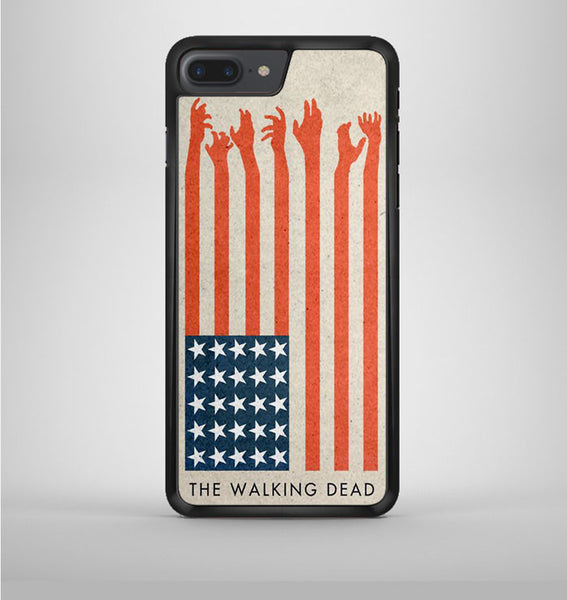 The Walking Dead Usa Flag iPhone 7 Plus Case Avallen