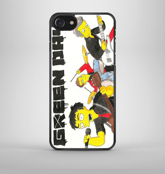 The Simpson Green Day Cartoon iPhone 7 Case Avallen