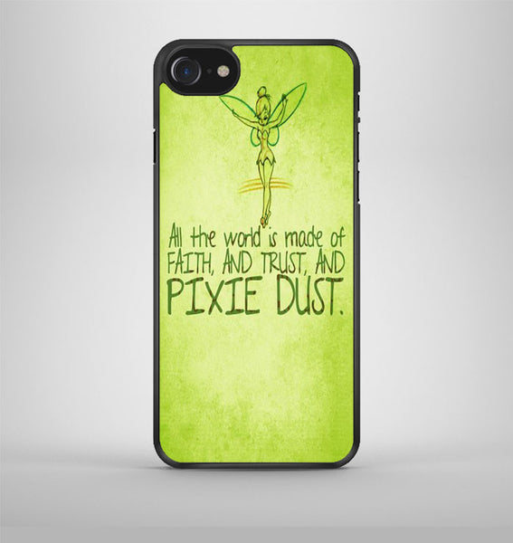Tinkerbell Pixie Dust Quotes iPhone 7 Case Avallen