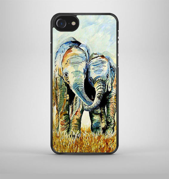Two Elephants iPhone 7 Case Avallen