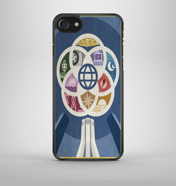 Vintage Epcot-I iPhone 7 Case Avallen