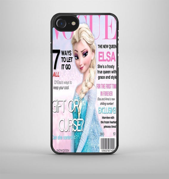 Vogue Elsa Frozen iPhone 7 Case Avallen