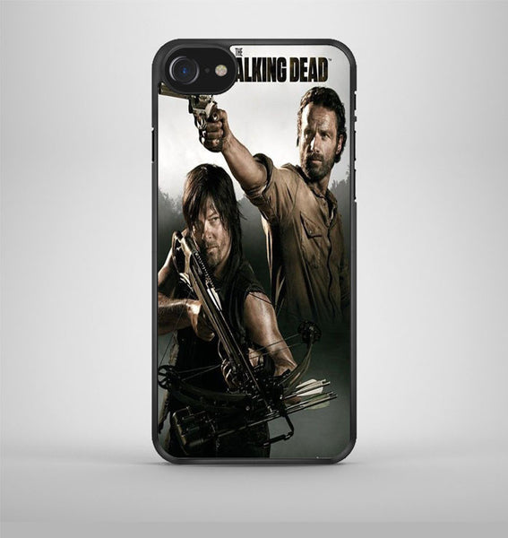 Walking Dead Rick And Daryl 2 iPhone 7 Case Avallen