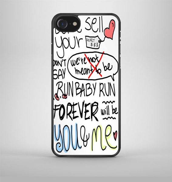 We The Kings Check Yes Juliet Lyric Cover iPhone 7 Case Avallen