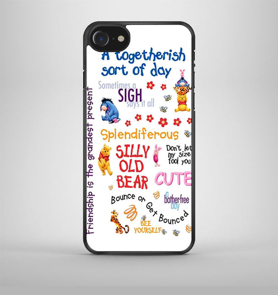 Winnie The Pooh Quotes 3 iPhone 7 Case Avallen