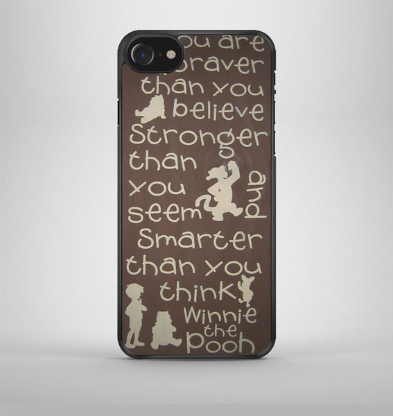 Winnie The Pooh Quotes 4 iPhone 7 Case Avallen
