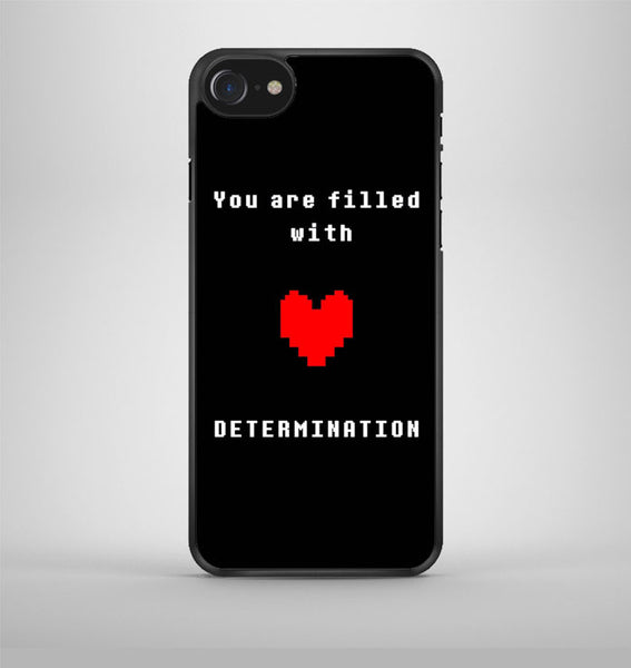 You are filled with Determination Undertale iPhone 7 Case Avallen