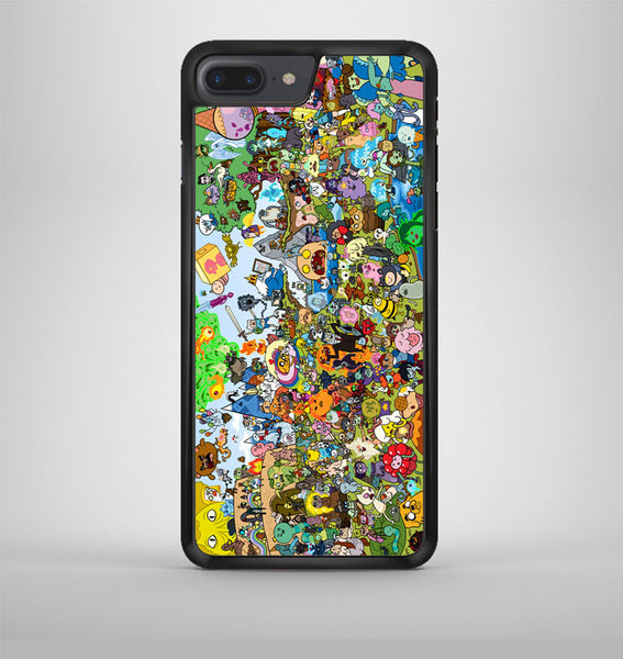 Adventure Time Party All Character iPhone 7 Plus Case Avallen