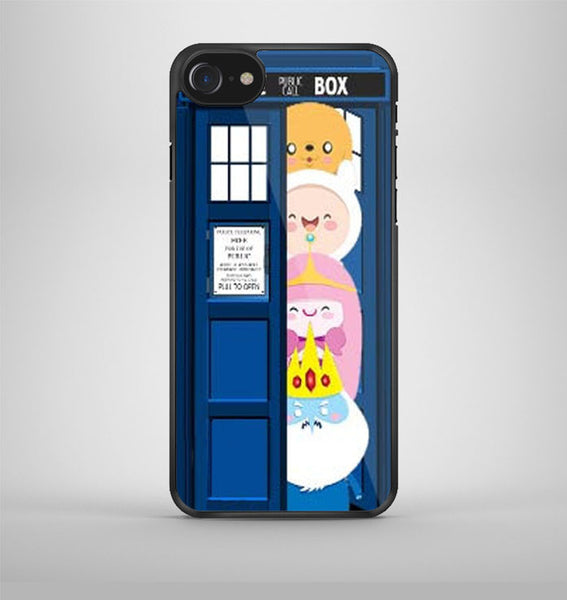 All Character Adventure Time Tardis Dr Who iPhone 7 Case Avallen
