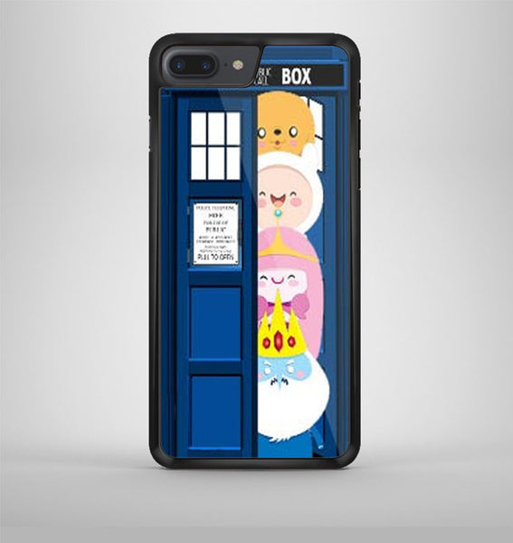 All Character Adventure Time Tardis Dr Who iPhone 7 Plus Case Avallen