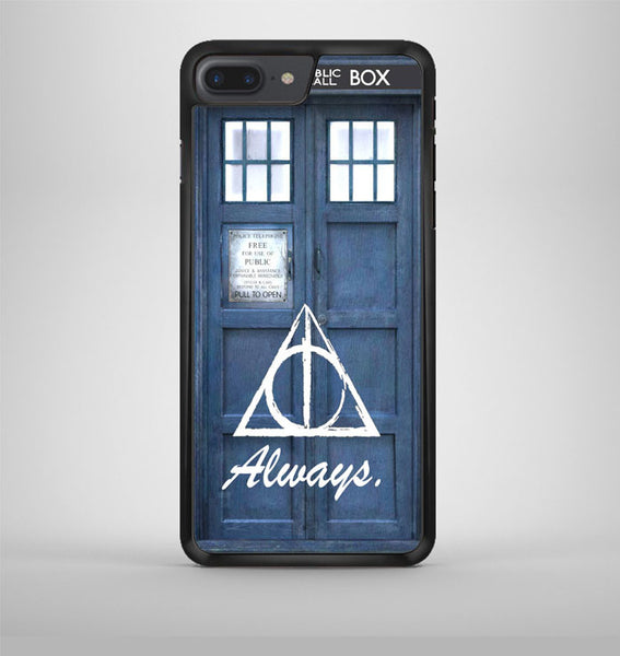 Always The Deathly Hollows Dr Who Tardis iPhone 7 Plus Case Avallen