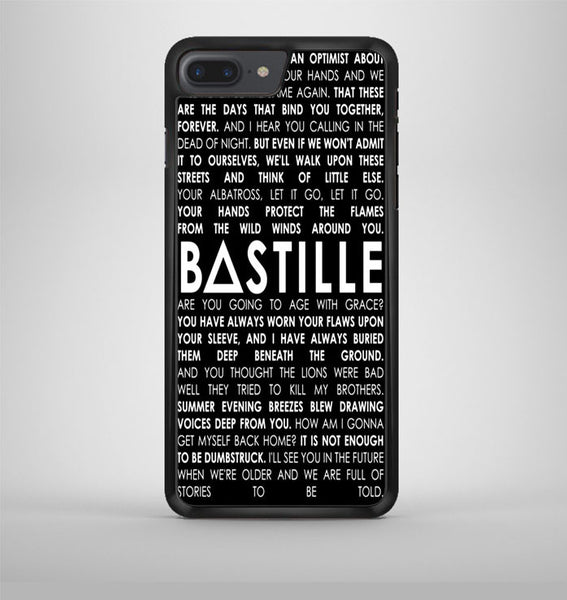 Bastille Lyrics Quotes iPhone 7 Plus Case Avallen