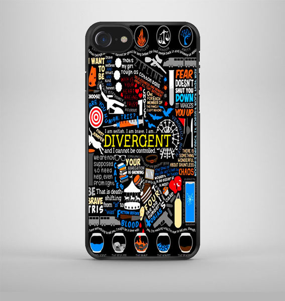 Colorful Divergent Quotes iPhone 7 Case Avallen