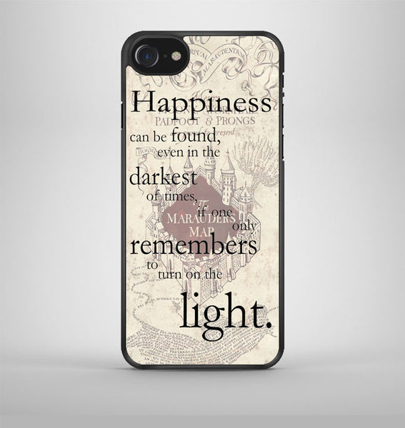 happiness quote harry potter iPhone 7 Case Avallen