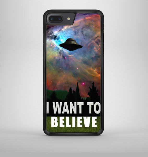 I Want To Belive Xfile Movie Nebula Space iPhone 7 Plus Case Avallen