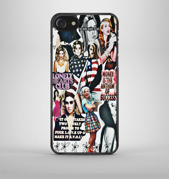 lana del rey collage iPhone 7 Case Avallen