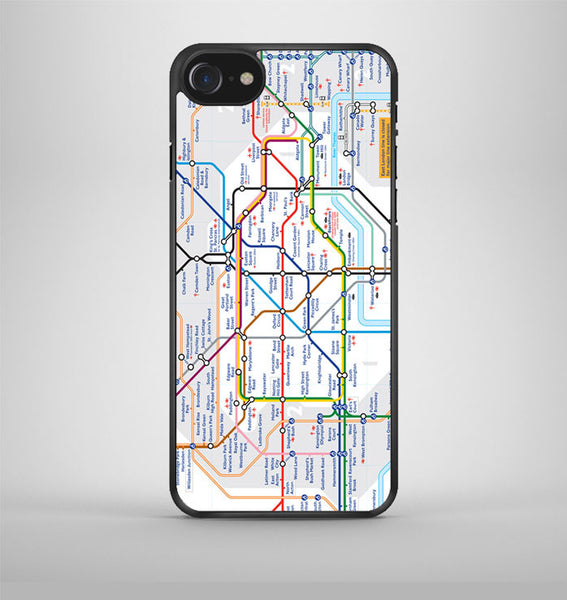 london tube map iPhone 7 Case Avallen