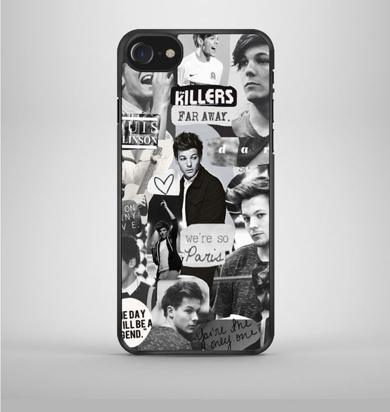 Louis Tomlinson Collage iPhone 7 Case Avallen