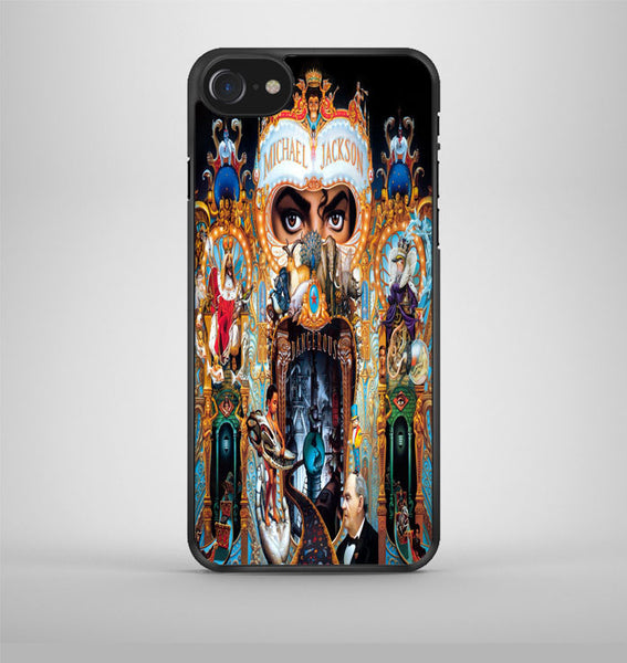 Michael Jackson King Of Pop Cover Album iPhone 7 Case Avallen