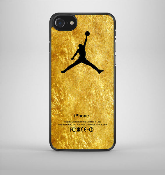 Michael Jordan Golden Gold Pattern iPhone 7 Case Avallen