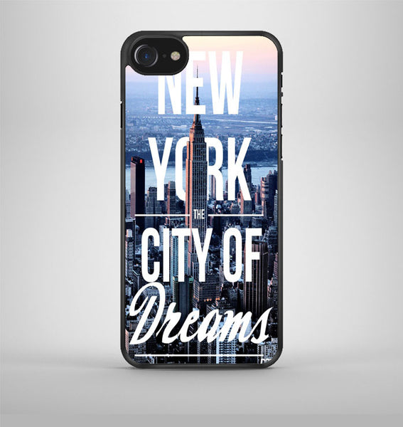 New York City Of Dreams iPhone 7 Case Avallen